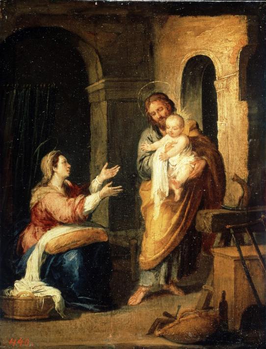 Bartolome Esteban Murillo - Die heilige Familie (1660)